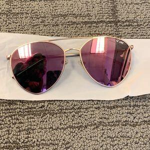 Quay Gold/Pink Australia Sunglasses